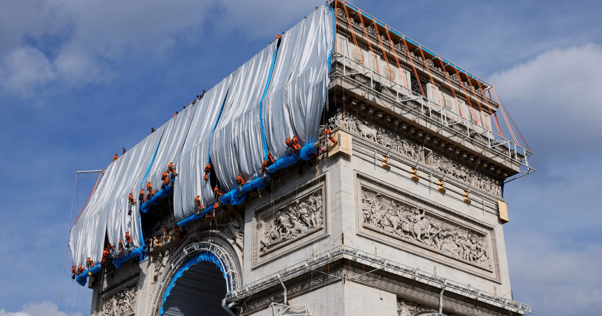 Index – Culture – The Arc de Triomphe Paris was completed because Christo wanted it that way.