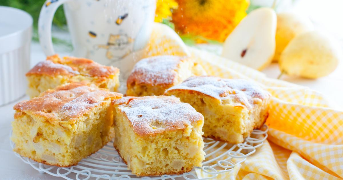 Pihe-puha vaníliás körtés süti kevert tésztából: kezdőknek is könnyen megy