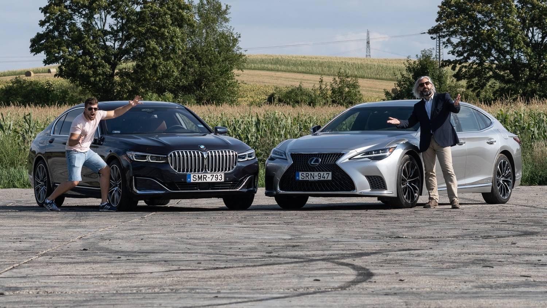 Na, ki a nagyobb király? - Összehasonlító teszt: BMW 740d xDrive vs. Lexus LS 500 h AWD