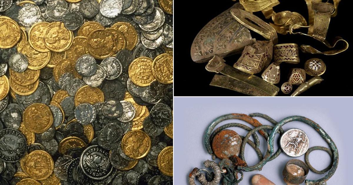 8 gyanútlan ember, aki felbecsülhetetlen értékű kincset talált: a bronzkori leletektől a római kincsig
