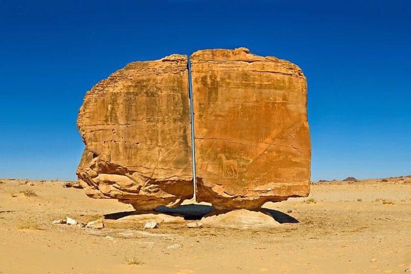 Íme a 4000 éves szikla, ami a tudósokat is zavarba hozza: máig rejtély, hogyan repedt ketté