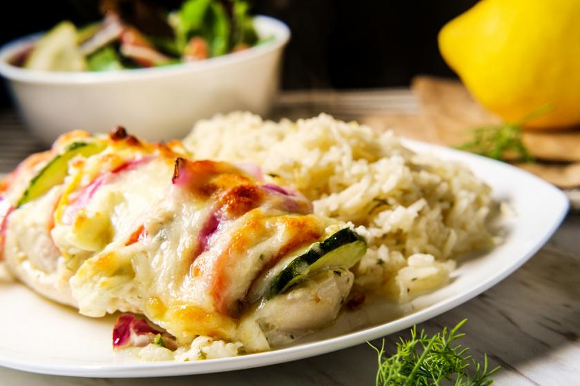 A 8 legfinomabb fogás csirkemellből: a rakottastól a töltött finomságokig