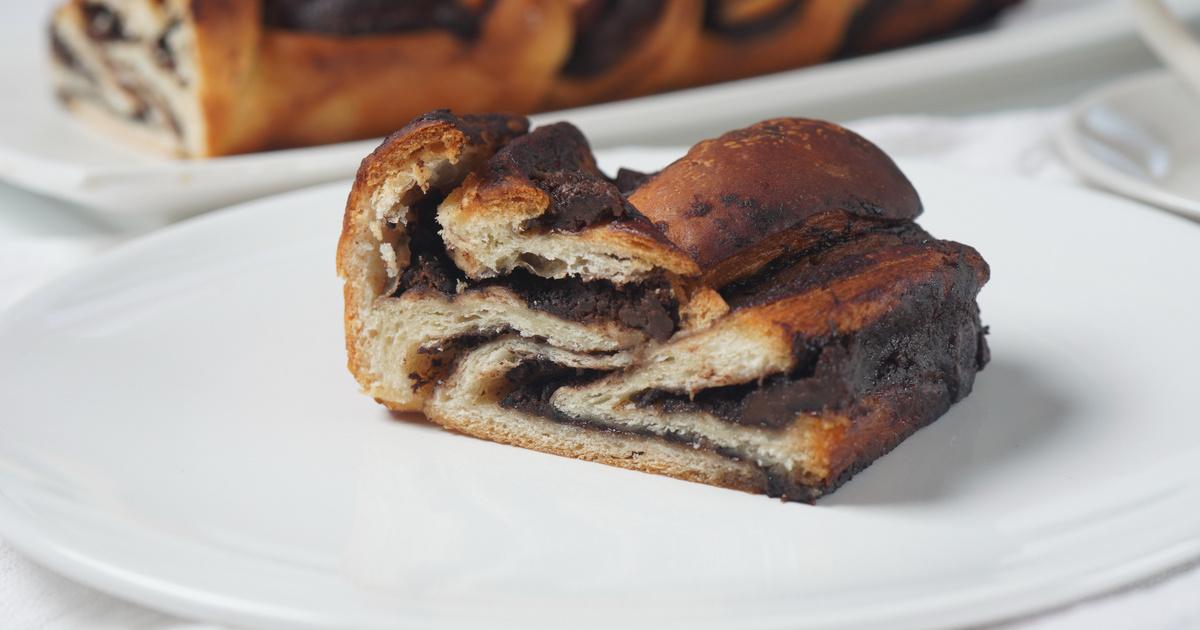 Foszlós, Nutellával töltött kalács: a kelt tészta a nagyi receptje szerint készül