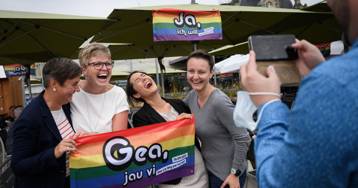 Várhatóan legalizálják a melegházasságot Svájcban