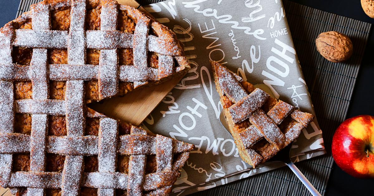 Régimódi diós, almás rácsos pite fahéjjal: omlós, illatos és ellenállhatatlan