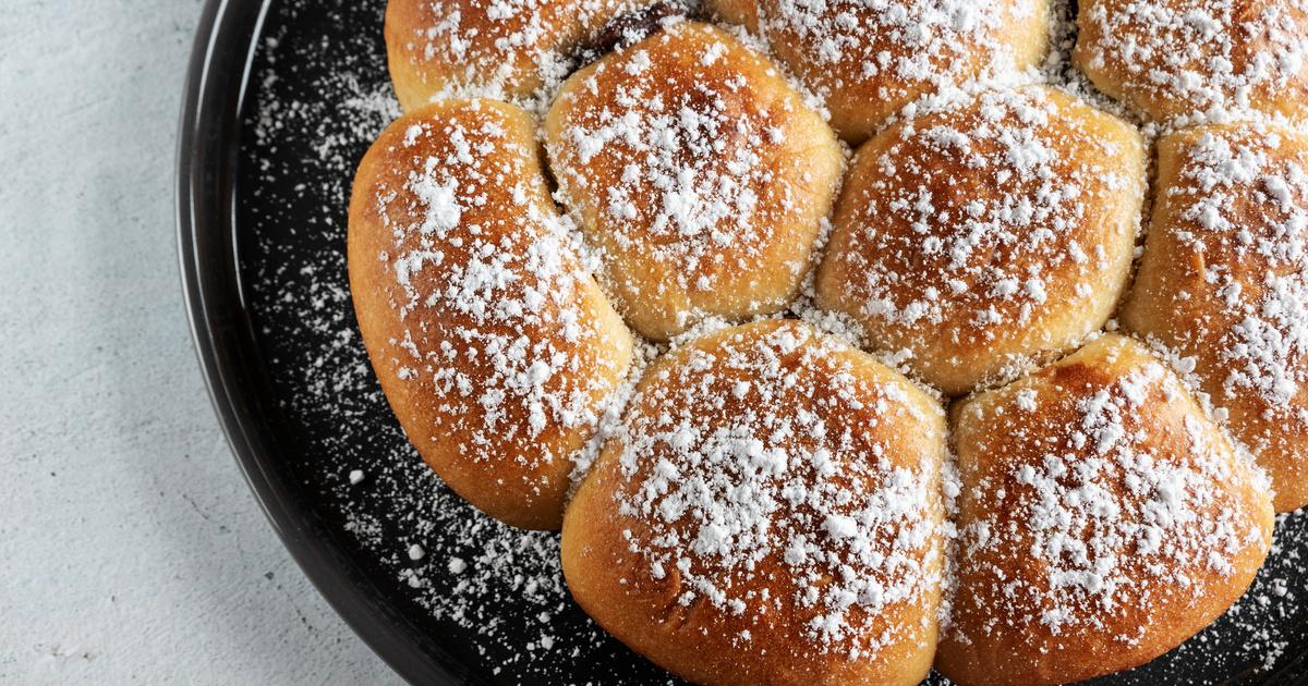 Nutellás buktagombóc puha, foszlós kelt tésztából: elronthatatlan recept