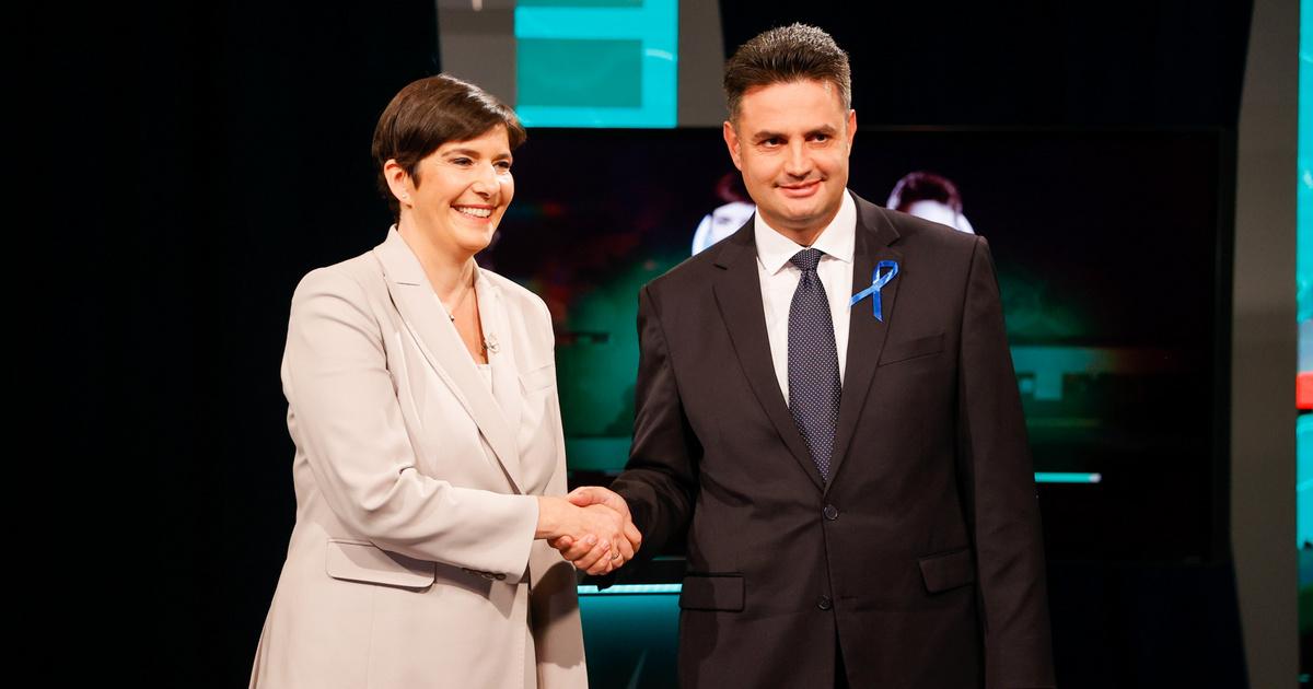 Élő adásban folytatja a vitát Dobrev Klára és Márki-Zay Péter - Itt a harmadik miniszterelnök-jelölti vita