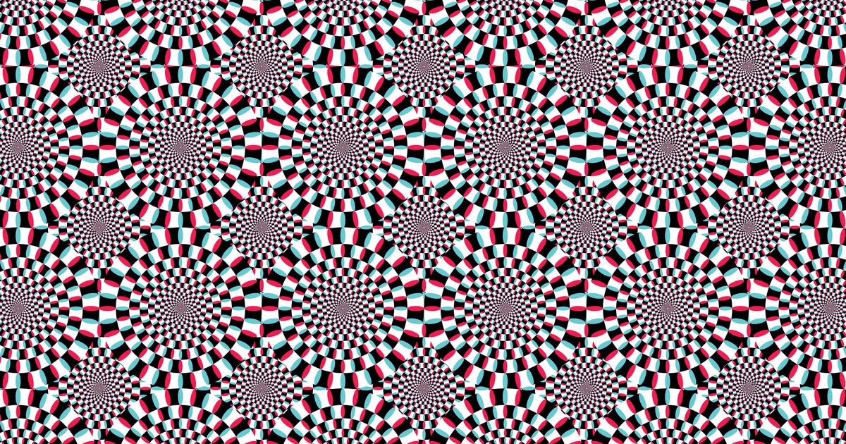 8 látványos optikai illúzió, ami mindenki szemét becsapja: neked is mozognak a körök?