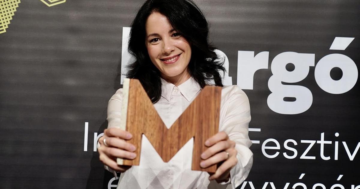 Halász Rita kapta a Margó-díjat
