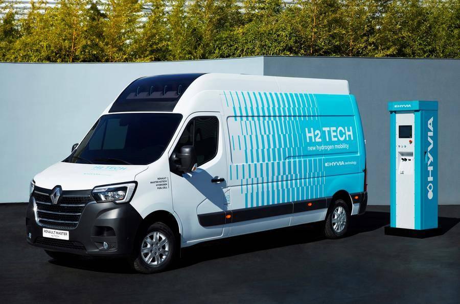 Itt egy újabb hidorgén-hajtású Renault furgon