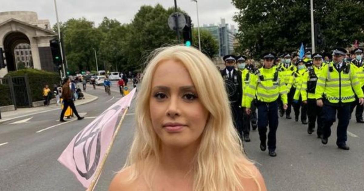 Egy zöld aktivista szeretne a britek első meztelen miniszterelnöke lenne