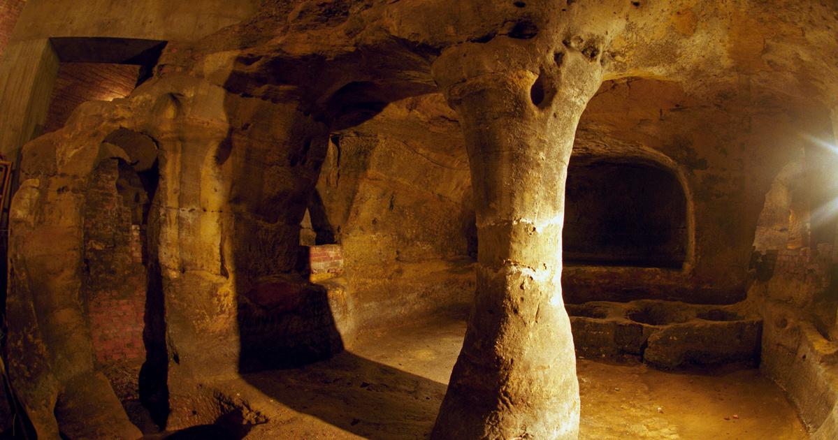 Egy 832 éves kocsmából nyílik Európa legizgalmasabb barlangvárosa