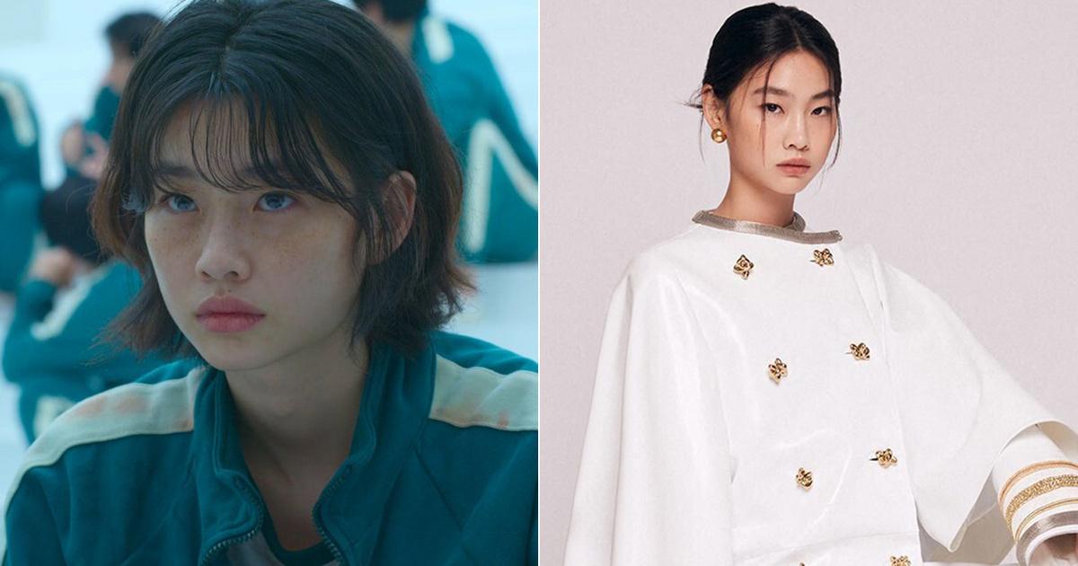Gyönyörű modell a Squid Game 27 éves sztárja: Jung Ho-yeon elképesztően sikkes szettekben pózol