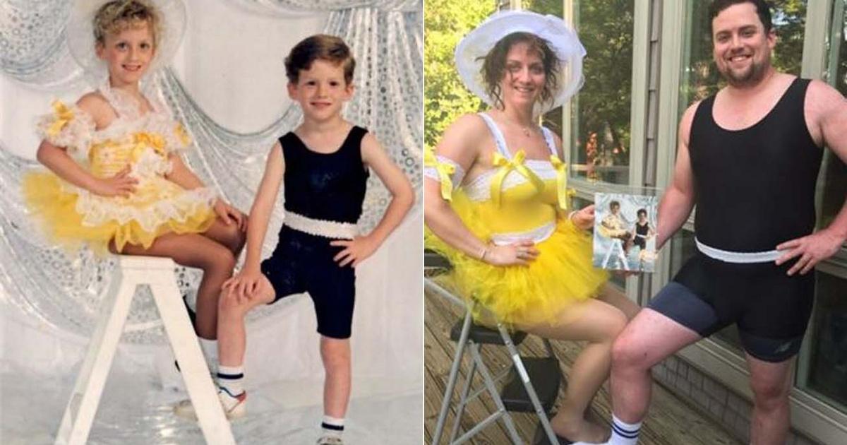 30 év telt el a két kép között, mégis alig változott valami: zseniálisan alkották újra ezeket a fotókat