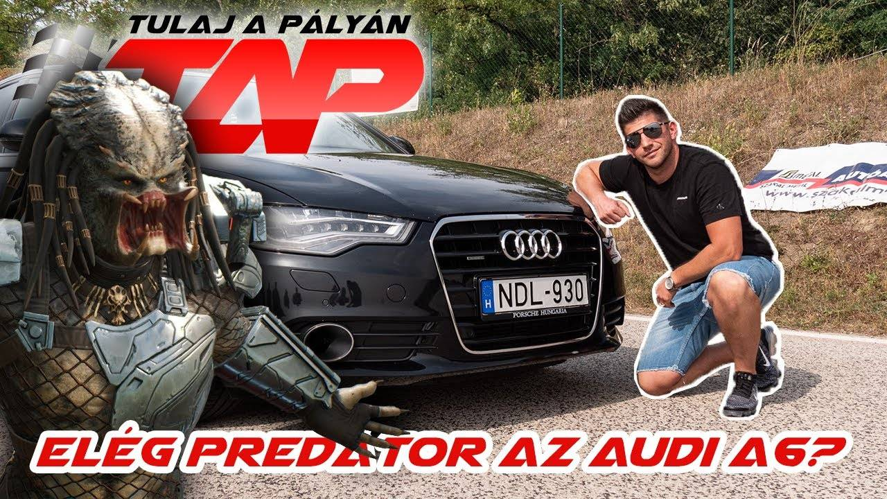 Audi A6 TDI: ebben te leszel a predátor!