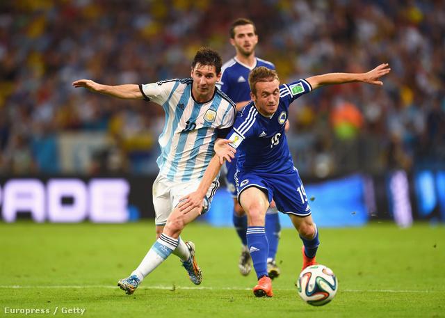 Lionel Messi a pályán: Argentina - Bosznia-Hercegovina