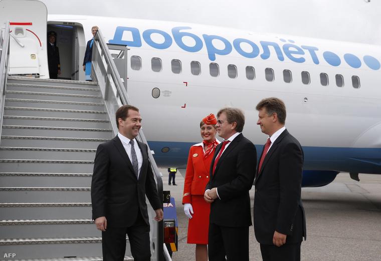 Medvegyev aDobroljot első krími járatánál