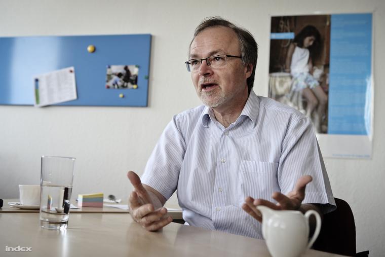 Gosztonyi Gábor, az SOS Gyermekfalu vezetője.