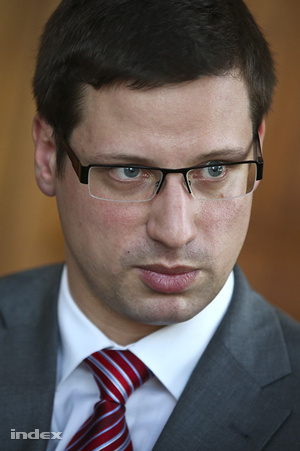 Gulyás Gergely fideszes parlamenti alelnök
