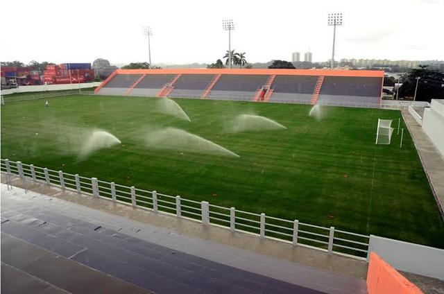 A Carlos Zamith Stadion Manausban