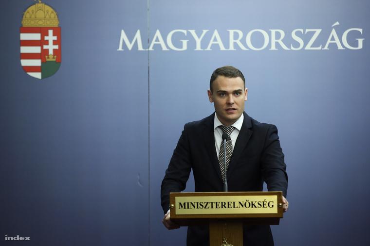 Csepreghy Nándor, a Miniszterelnökség fejlesztéspolitikai kommunikációjáért felelős helyettes államtitkára, norvégügyi megbízott