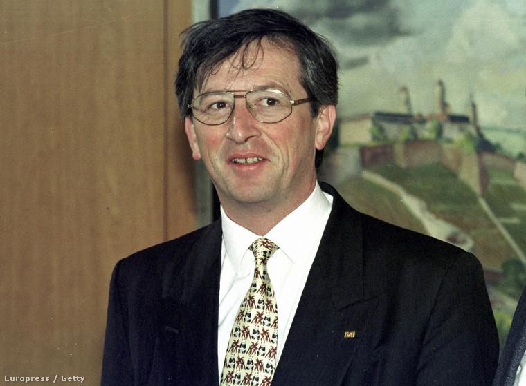 Jean-Claude Juncker 1995-ben