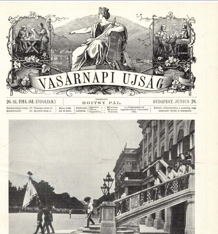 Olvasson bele a korabeli lapokba az Arcanum archívumban! Kattintson a képre!