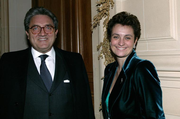Wojciech Janowski és Sylvia Pastor 2003-ban