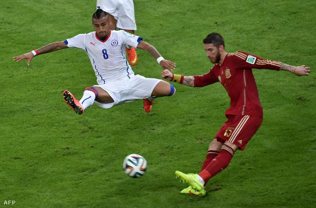 Vidal a keménységéről híres, és Brazília ellen is pont ezt várják tőle