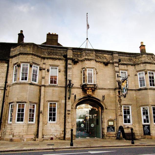 Best Western Angel & Royal Hotel az angliai Grantham városában