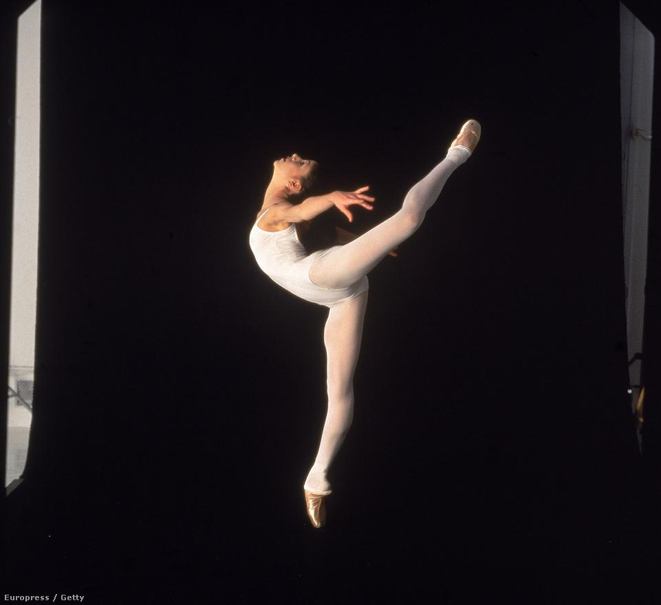 Paloma Herrera argentín táncosnő egy New York-i stúdióban 1996-ban, ő volt az Amerikai Balletszínház legfiatalabb táncosa.