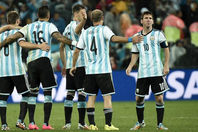 Messi és a csapat
