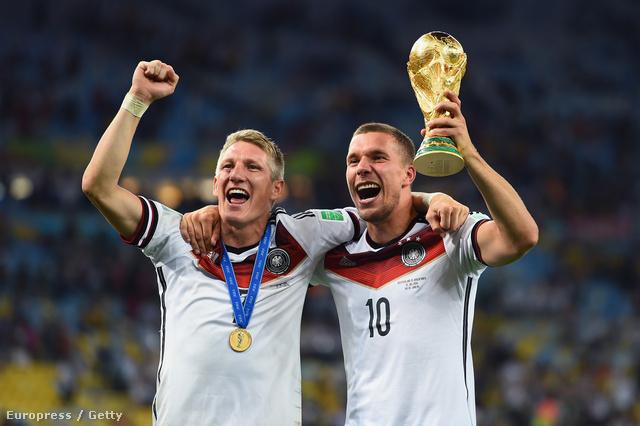 Schweinsteiger és Podolski lehet, hogy az utolsó vb-jükön ünnepeltek
