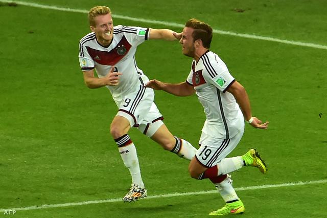 Schürrle és Götze a két legfiatalabb játékos volt a pályán, persze, hogy ők hozták össze a győztes gólt
