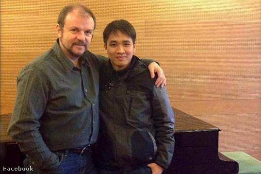 Kiss B. Attila, a Liszt Ferenc Zeneakadémia tanára és Ninh Đức Hoàng Long