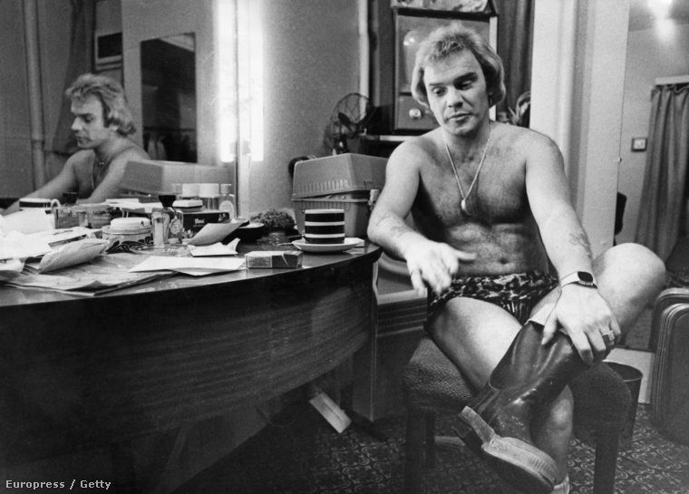 Freddie Starr 1977-ben