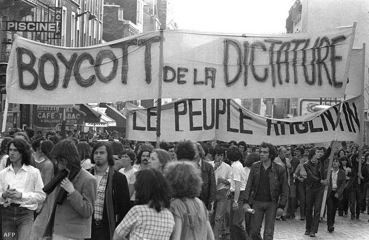 Az argentin tüntetők bekerültek a világsajtóba