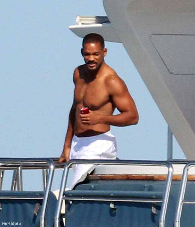 Will Smith a hajón