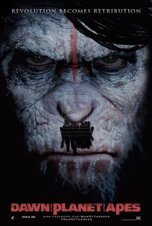 dawn of the planet of the apes  2014  by myrmorko-d7ay8ql