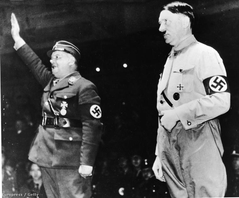 Röhm és Hitler egyetértésben, még 1933-ban