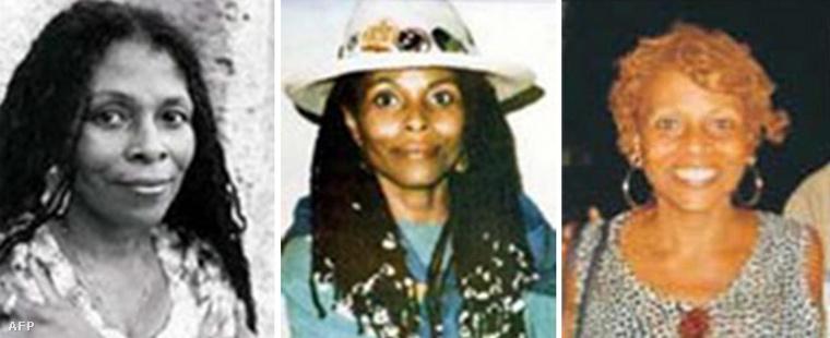 Joanne Chesimard az FBI által kiadott képeken