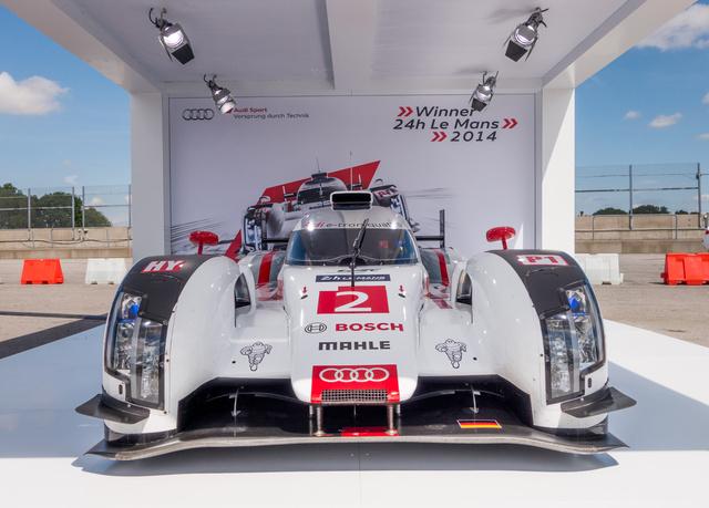 A 2014-es Le Mans-győztes Audi R18 e-tron