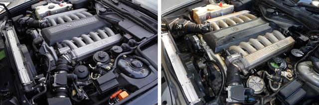 Balra az M70 újabb, jobbra a régebbi változata. Figyeljék meg az olajbetöltőt.