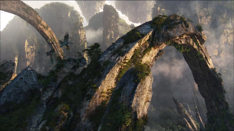 Kőboltívek az Avatarból