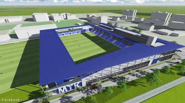 Az új Hidegkuti-stadion látványterve
