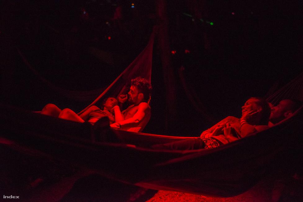 A zene és a buli mellett fontos szerepet kapnak a tánc- és mozgásszínházi társulatok, és a fizikai színház.