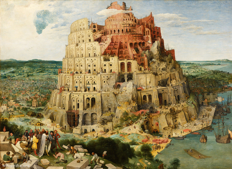 Pieter Bruegel the Elder - The Tower of Babel (Vienna) - Google