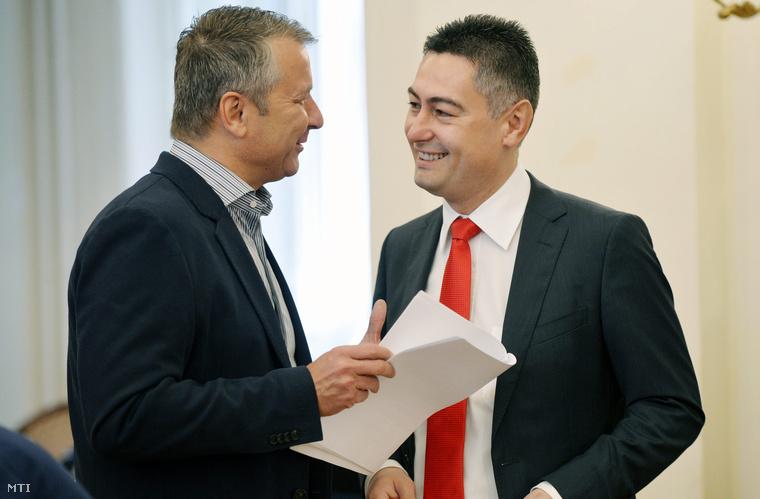 Molnár Gyula és Horváth Csaba 2013-ban