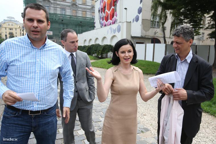 Molnár Csaba, Szigetvári Viktor és Kunhalmi Ágnes