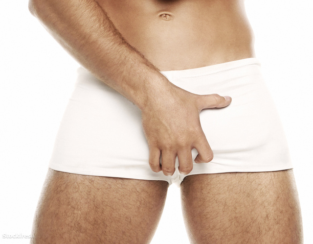 stockfresh 1171753 man-in-white-underwear sizeM